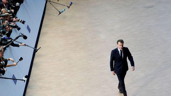 Macron tests German patience in split over Brexit delay