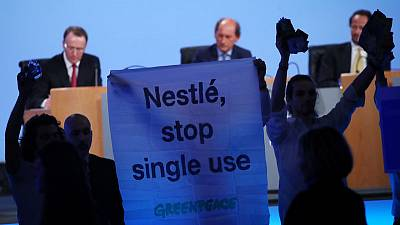 Greenpeace calls for Nestle to act over single-use plastics
