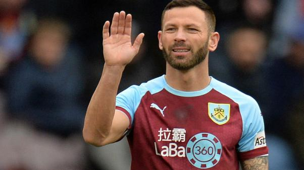 Freak injury could rule out Burnley's Bardsley for Cardiff clash
