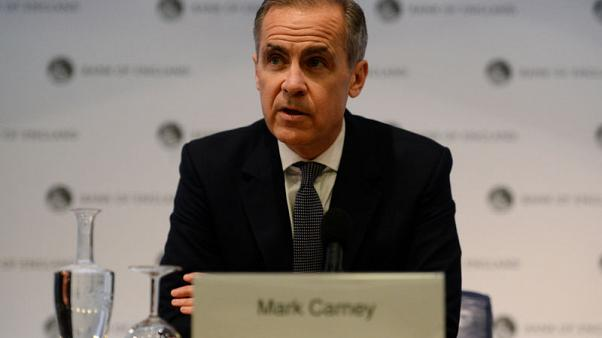 BoE's Carney says UK needs time to find Brexit consensus