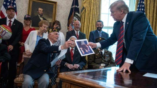 Trump se rendra en Normandie pour le 75e anniversaire du Débarquement