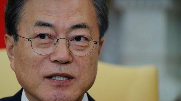 South Korea's Moon to seek inter-Korean summit soon to facilitate nuclear talks