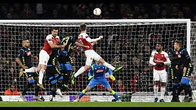 Europa League: Arsenal-Napoli 2-0