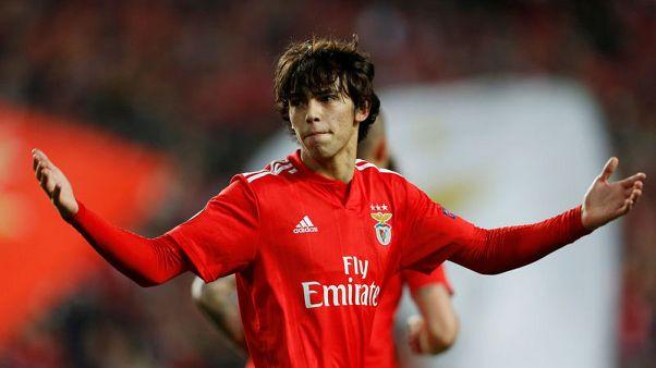 Benfica teenager Joao Felix nets treble in 4-2 Eintracht win