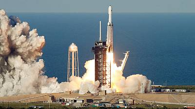 Elon Musk's SpaceX sends world's most powerful rocket on first commercial flight