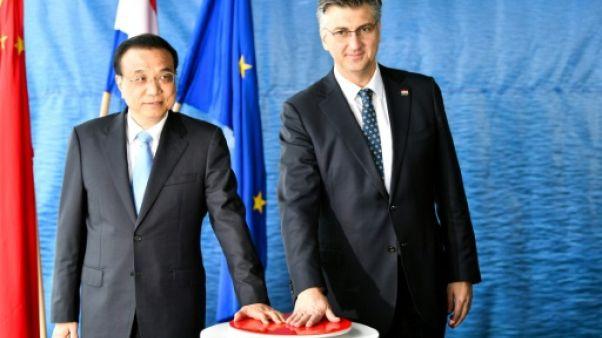 La Chine courtise les pays d'Europe de l'est, et cherche à rassurer l'UE