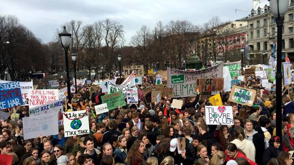 'Climate before cash' - young Norwegians call time on oil industry