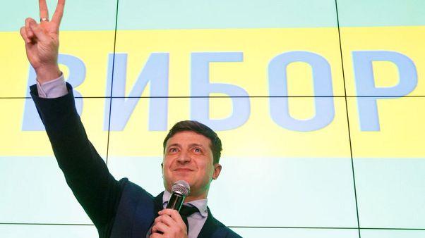Ukrainian comedian gets serious with investors in bid for presidency