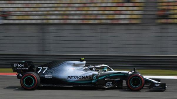 F1: Bottas le plus rapide des essais libres 2 du GP de Chine