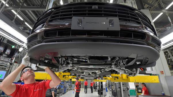 Weakness in German industry to be more than offset by other sectors in first-quarter - ministry