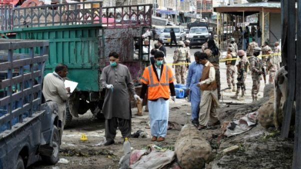 Pakistan : 20 morts et 48 blessés dans un attentat-suicide à Quetta