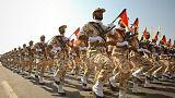آلاف الإيرانيين يحتجون على تصنيف أمريكا الحرس الثوري منظمة إرهابية