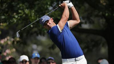 Big hitters poised to make splash at rainy Masters
