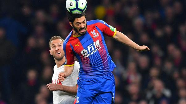 Palace defender Tomkins to miss rest of season with injury