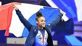 Gym: la Française De Jesus Dos Santos sacrée championne d'Europe du concours général
