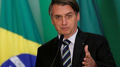 Brazil's Bolsonaro says rainforest reserve should be opened to mining
