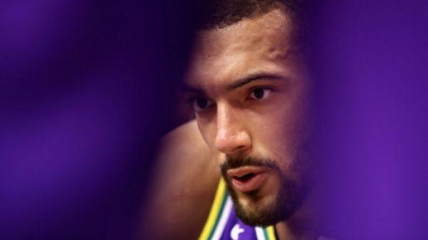 "NBA: avec Utah, Gobert ""vise le titre"""