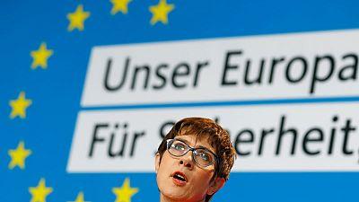 German conservative leader blasts SPD over NATO spending target