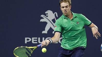 Tennis - Querrey outlasts Tipsarevic to reach Houston semi-finals