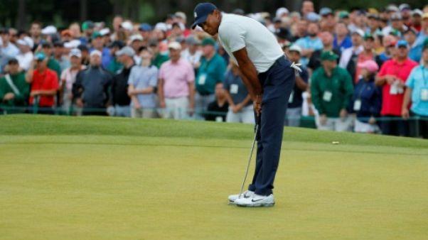 Masters: embouteillage en tête, Tiger Woods bien placé