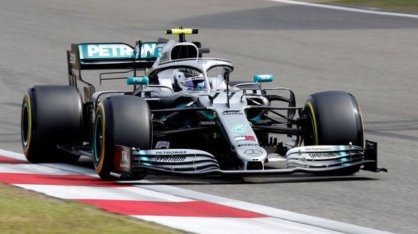 بوتاس ينطلق من المركز الأول في السباق 1000 لفورمولا 1