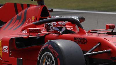 """F1:Cina,Leclerc """"Veloce ma fatto errore"""""""