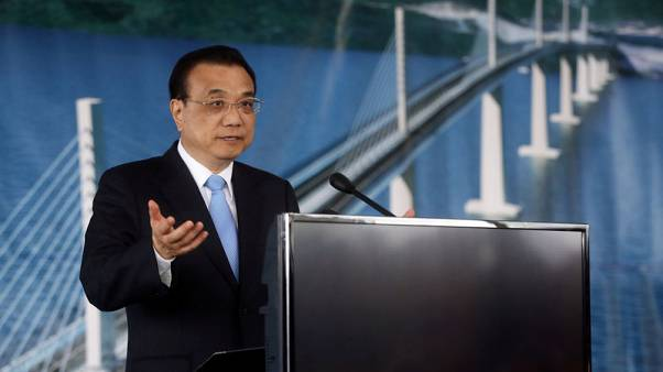 Chinese premier confident economy will meet annual growth target