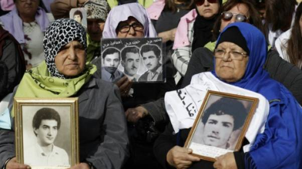 Liban: 44 ans après la guerre, une lueur d'espoir pour les proches des disparus