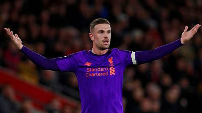 Liverpool's Henderson credits Fabinho for helping to unlock attacking instinct