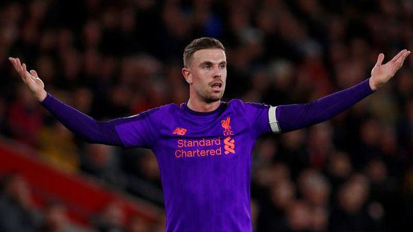 Liverpool's Henderson credits Fabinho for helping to unlock attacking instinct