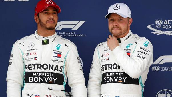 Mercedes wary of Ferrari threat despite front row lockout