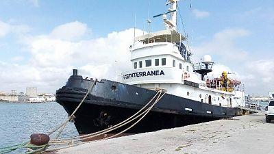 Migranti:domani nuova missione Mar Jonio