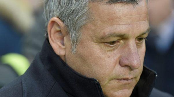 Lyon: l'entraîneur Bruno Genesio annonce son départ en fin de saison