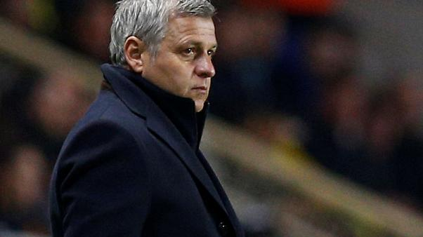 Coach Genesio to leave Lyon at end of season