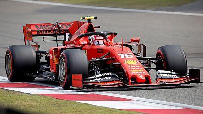 Leclerc falls back behind Vettel in China qualifying