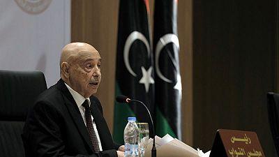Eastern Libya parliament head says forces will push Tripoli campaign