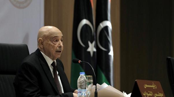 Eastern Libya parliament head says forces will push Tripoli campaign