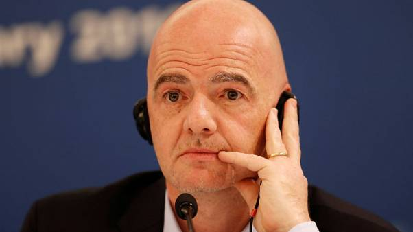 FIFA urges federations, leagues to take hard line on racism