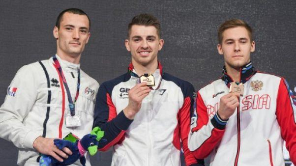 Championnats d'Europe de gym: Avec Tommasone et Devillard, doublé argenté pour les Bleus
