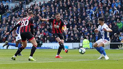 Brighton slip to humiliating defeat at home to Bournemouth