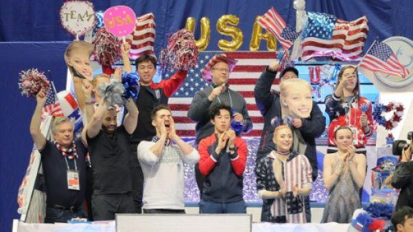 Trophée mondial de patinage par équipes: Victoire des Etats-Unis, la France 4e
