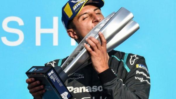 Formule E: première victoire pour Jaguar avec Evans à Rome