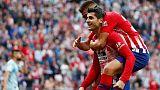 اتليتيكو يقلص الفارق مع برشلونة بالفوز على سيلتا في دوري اسبانيا