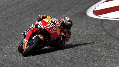MotoGp: pole a Marquez davanti a Rossi