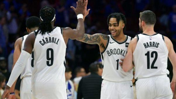 NBA: Brooklyn surprend Philadelphie dans sa salle