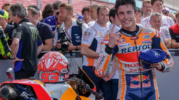 Motorcycling - Marquez on pole in Austin for seventh year in a row
