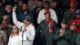Venezuela's Maduro orders militia expansion as Guaido tours blackout-ravaged state
