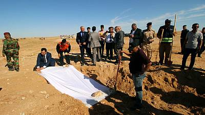 Iraq unearths mass grave of Kurds killed by Saddam