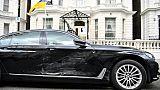 Le suspect d'un incident devant l'ambassade d'Ukraine à Londres interné
