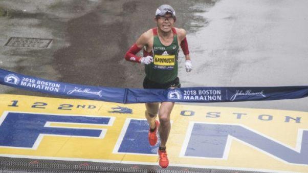 """Marathon de Boston: le """"coureur citoyen"""" Kawauchi revient en professionnel"""